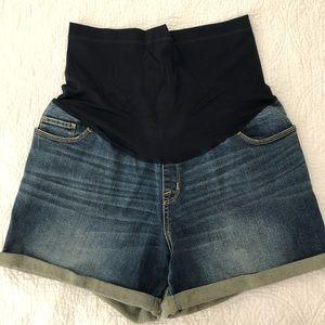 Liz Lange Maternity Shorts with Comfort Band